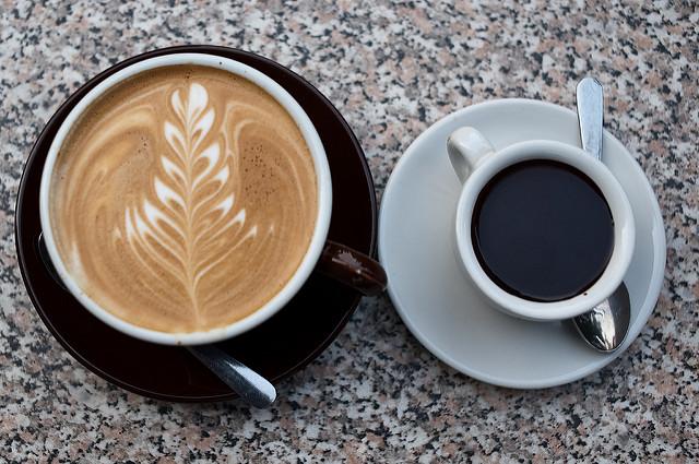 espresso i cafe latte