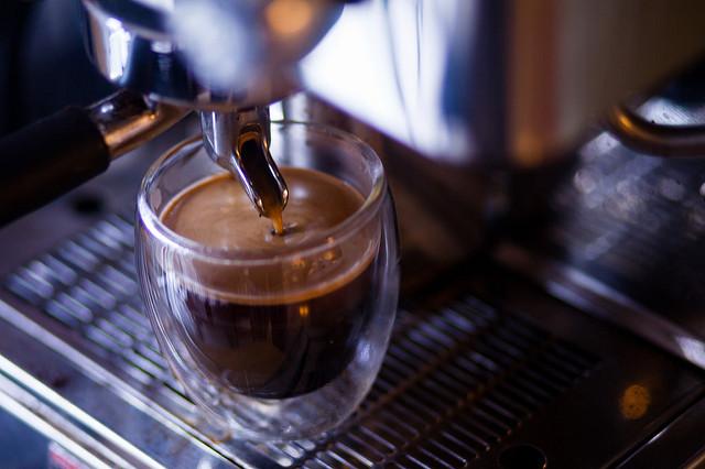 espresso parzenie