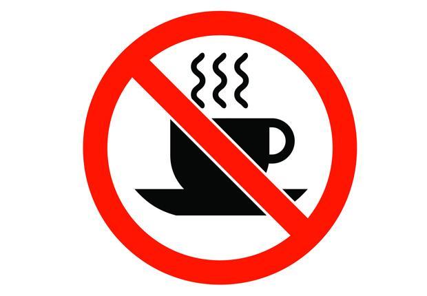 zakaz kawy